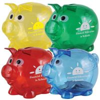 World's Smallest Pig Coin Bank. LL3598s
