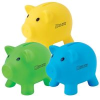 Pee Wee Pig Coin Bank. LL3737s