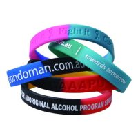 Sectional Coloured Wristband. PCW3