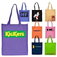 Standard Non-Woven Tote Bag with Gusset. H-RB1008