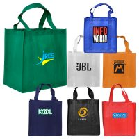 Large Non-Woven Shopping Bag with Gusset. H-RB1017