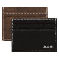 AGRADE Sueded Leatherette Card Wallet. H-EX101