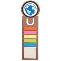 Circle Bookmark / Ruler with Noteflags. LL8860