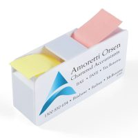 Duo Sticky Note Dispenser. LL9665