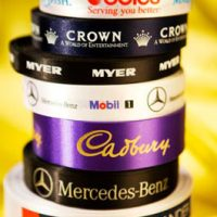 Satin Ribbon - Double or Single sided. A-SR