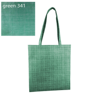 Silver lined patterned non woven tote bag. D-NWB021