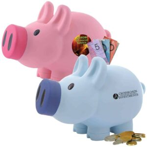 Money boxes and wallets